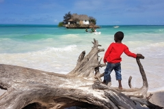 Zanzibar - restaurant the rock