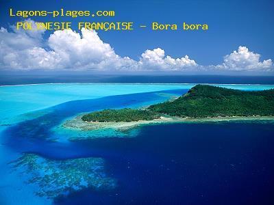 Lagon de Bora Bora Polynésie Française
