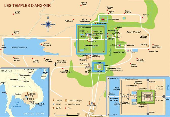 Carte Angkor Vat