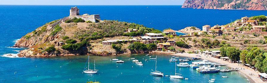 Corse, Baie de Girolata