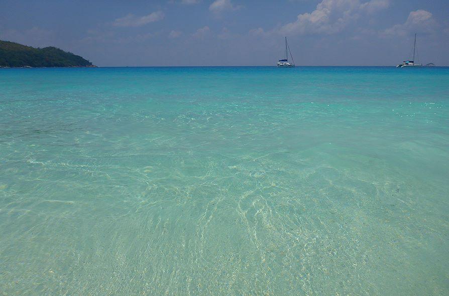Couleurs Anse Lazio Praslin, Seychelles
