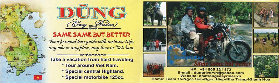 Dung Guide vietnamien Nha Trang Vietnam