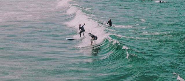 Meilleur spots de surf, France, côte sud ouest