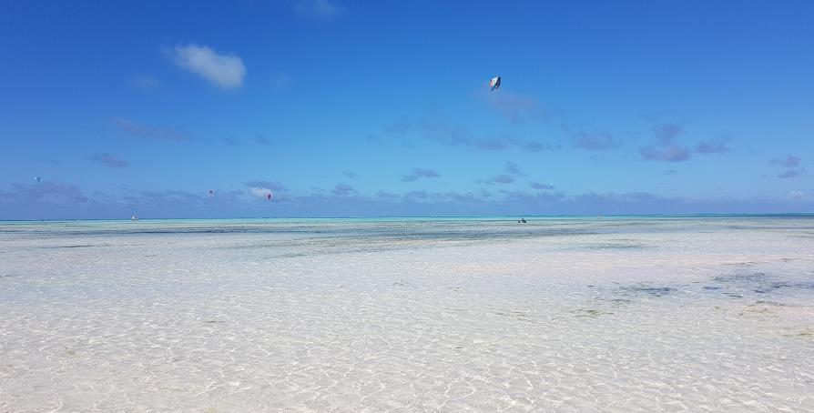 Jambiani océan indien à Zanzibar