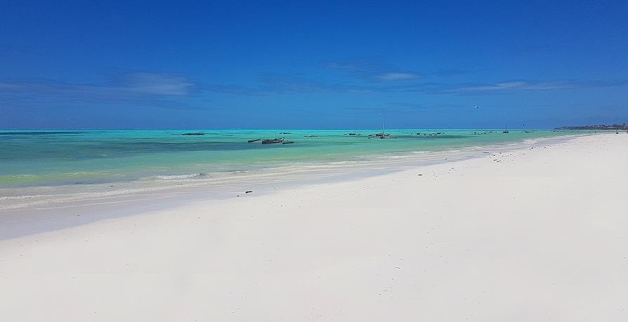 Jambiani plage de Zanzibar