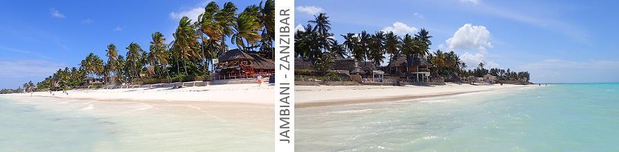 Jambiani Zanzibar vue de la mer