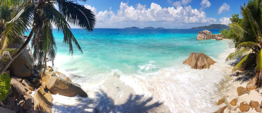 La Digue, Anse Grosse Roche, Seychelles