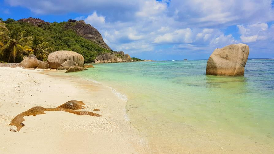 La Digue Anse source d'Argent, Seychelles