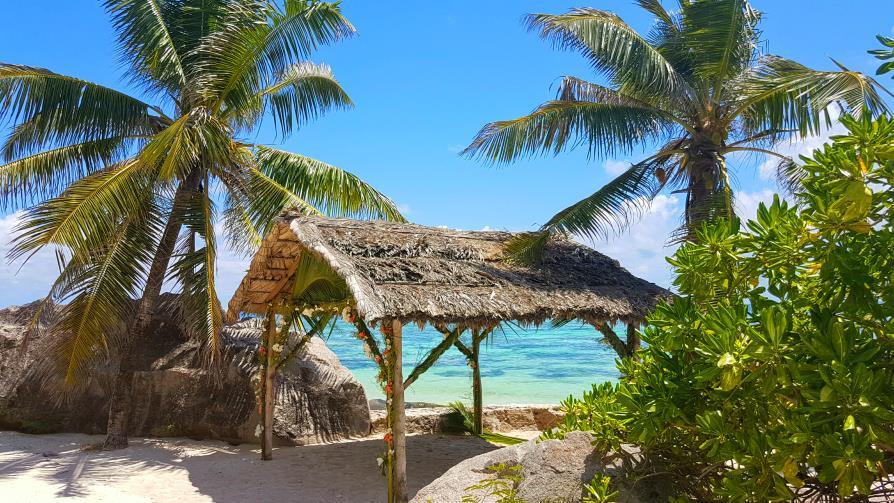 Pour les amoureux à La Digue Anse source d'Argent, Seychelles