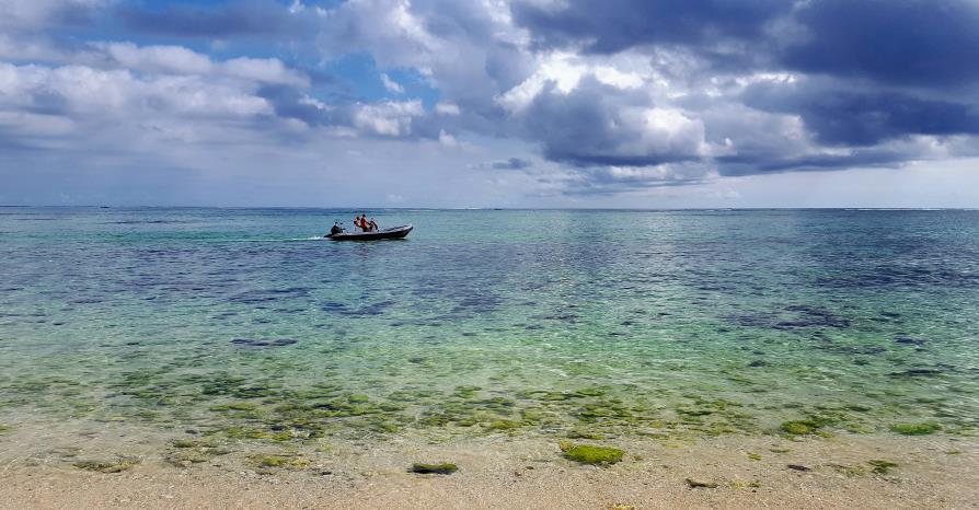 Lagon Morne Barbant Ile Maurice