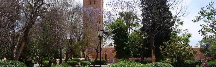 Marrakech Maroc, la Koutoubia mosquée