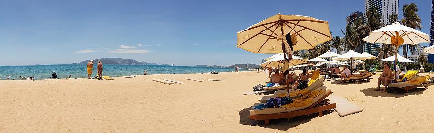 Nha Trang plage Vietnam panorama