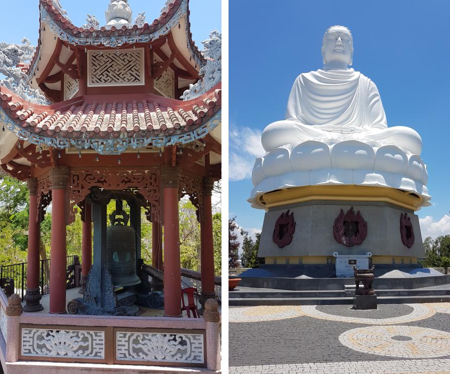 Pagode Long Son et le Bouddha blanc Nha Trang