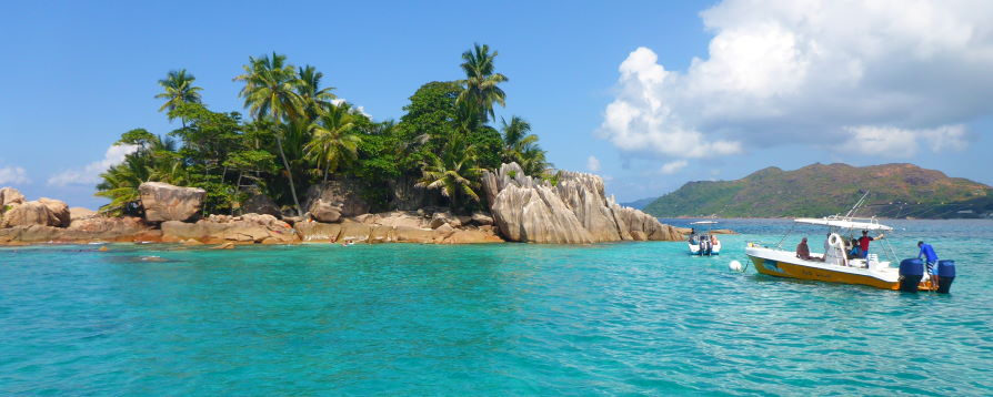 Snokeling ilot Saint Pierre Seychelles