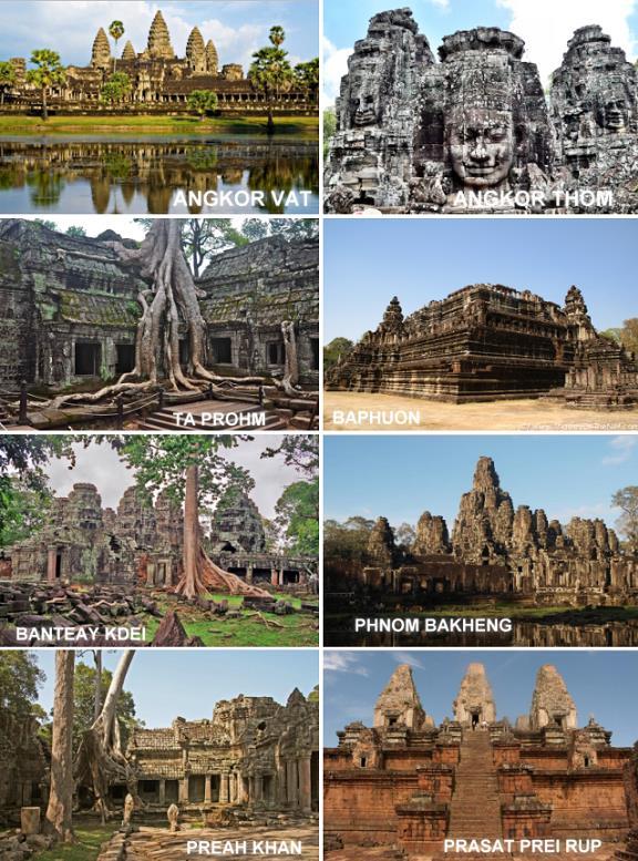 Les plus beaux temples d'Angkor Vat
