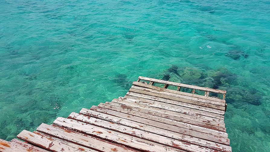 Zanzibar Prison island escalier ponton