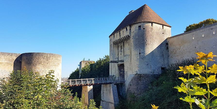 Château de Caen et son pont-levis