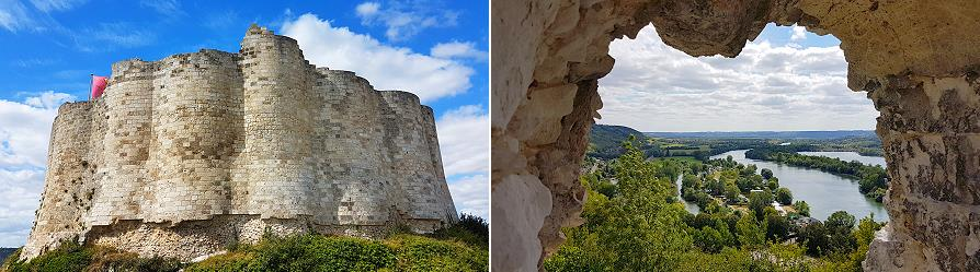 Chateau Gaillard, Richard coeur-de-lion, Les Andelys
