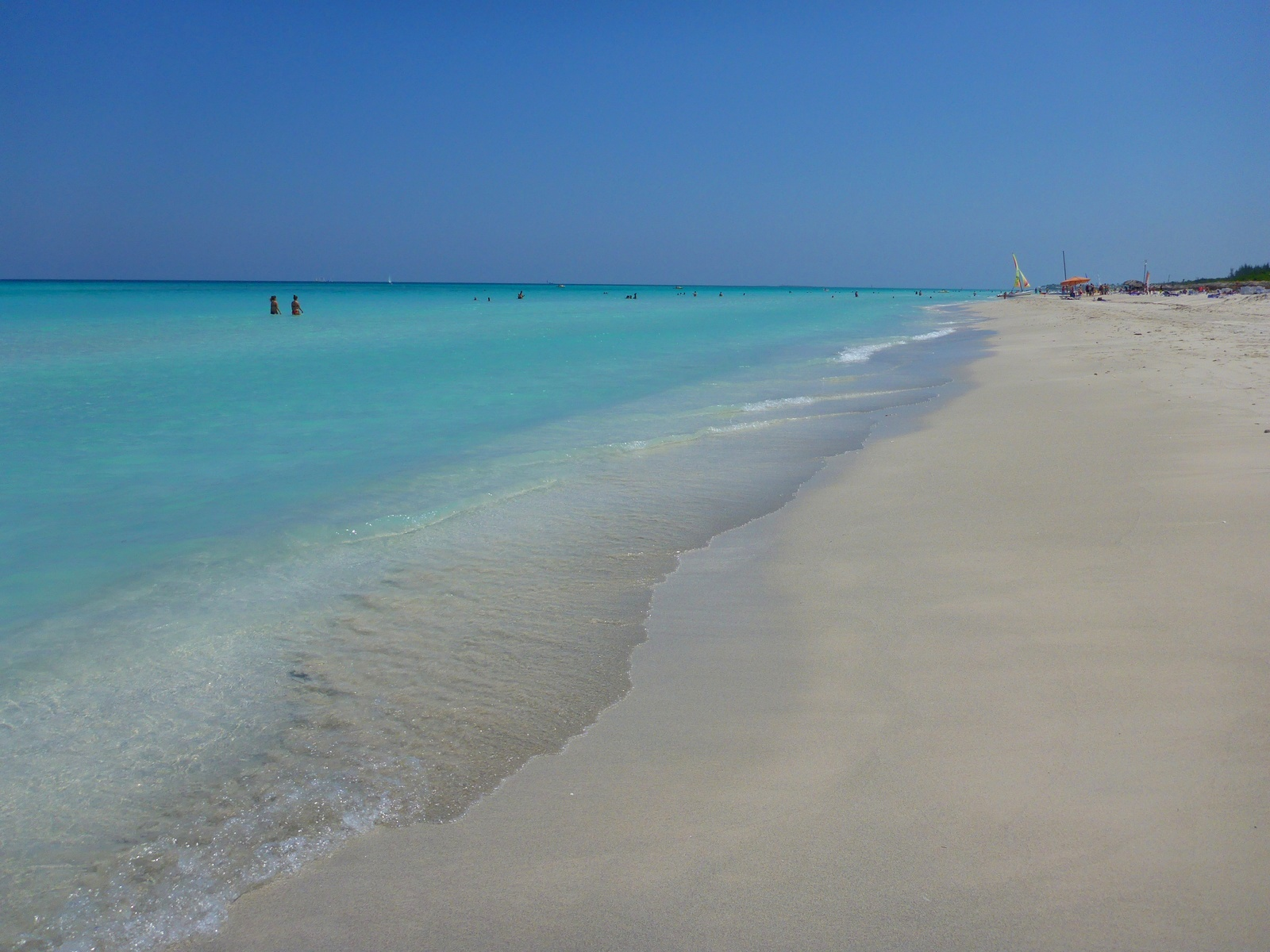 Cuba, la plage de Varadero