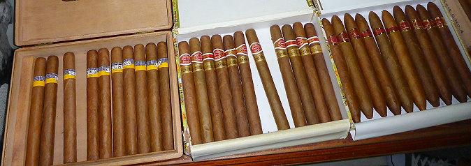 Cigares frais de Cuba à La Havane