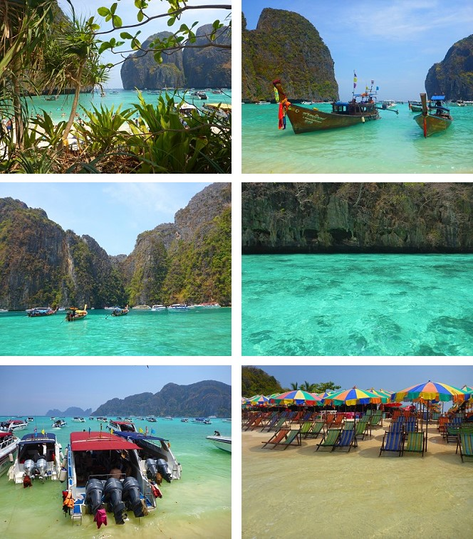 Koh Phi Phi excursion Thailande
