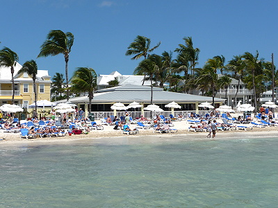 plage de Southernmost beach - Key West -  Floride USA
