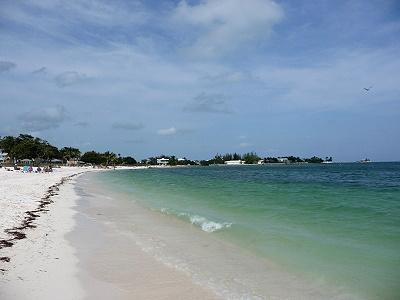 Plage de Sombrero beach - Marathon Key - Floride USA