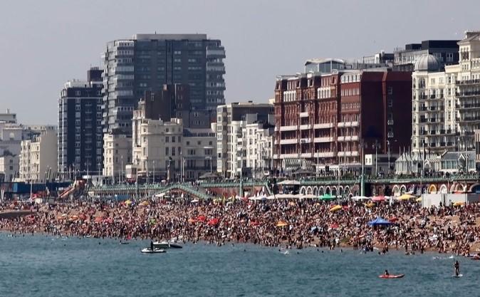 plage de Brighton Beach angleterre