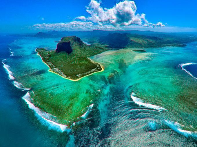 Lagon Morne Brabant de l'île Maurice / Mauritius