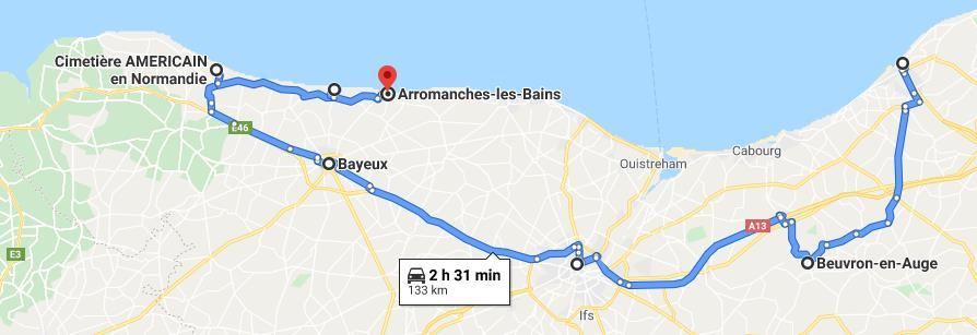 Roadtrip en Basse-Normandie