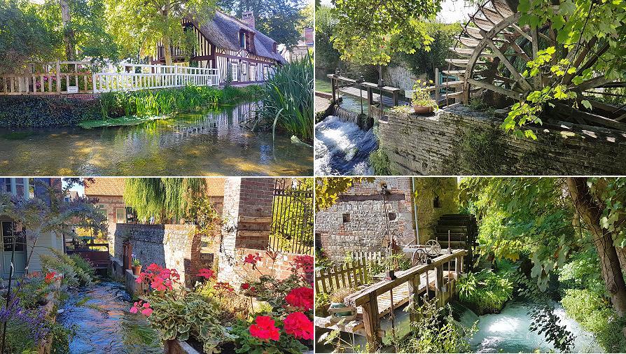 Veules-les-Roses et la Veules, son plus petit fleuve de France